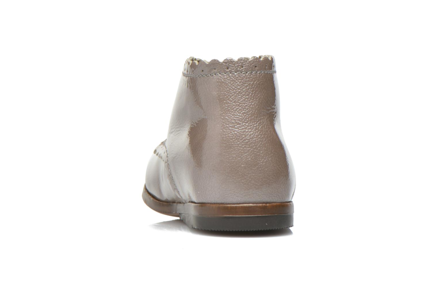 Ankle boots Little Mary Vivaldi Beige view from the right