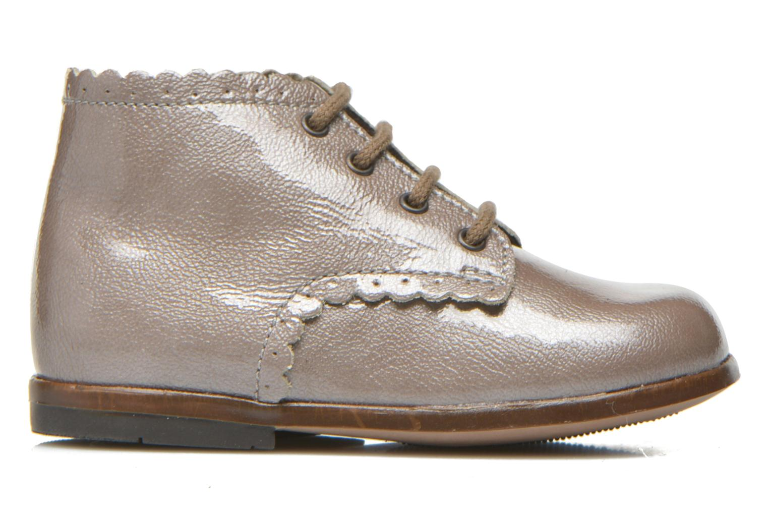 Ankle boots Little Mary Vivaldi Beige back view