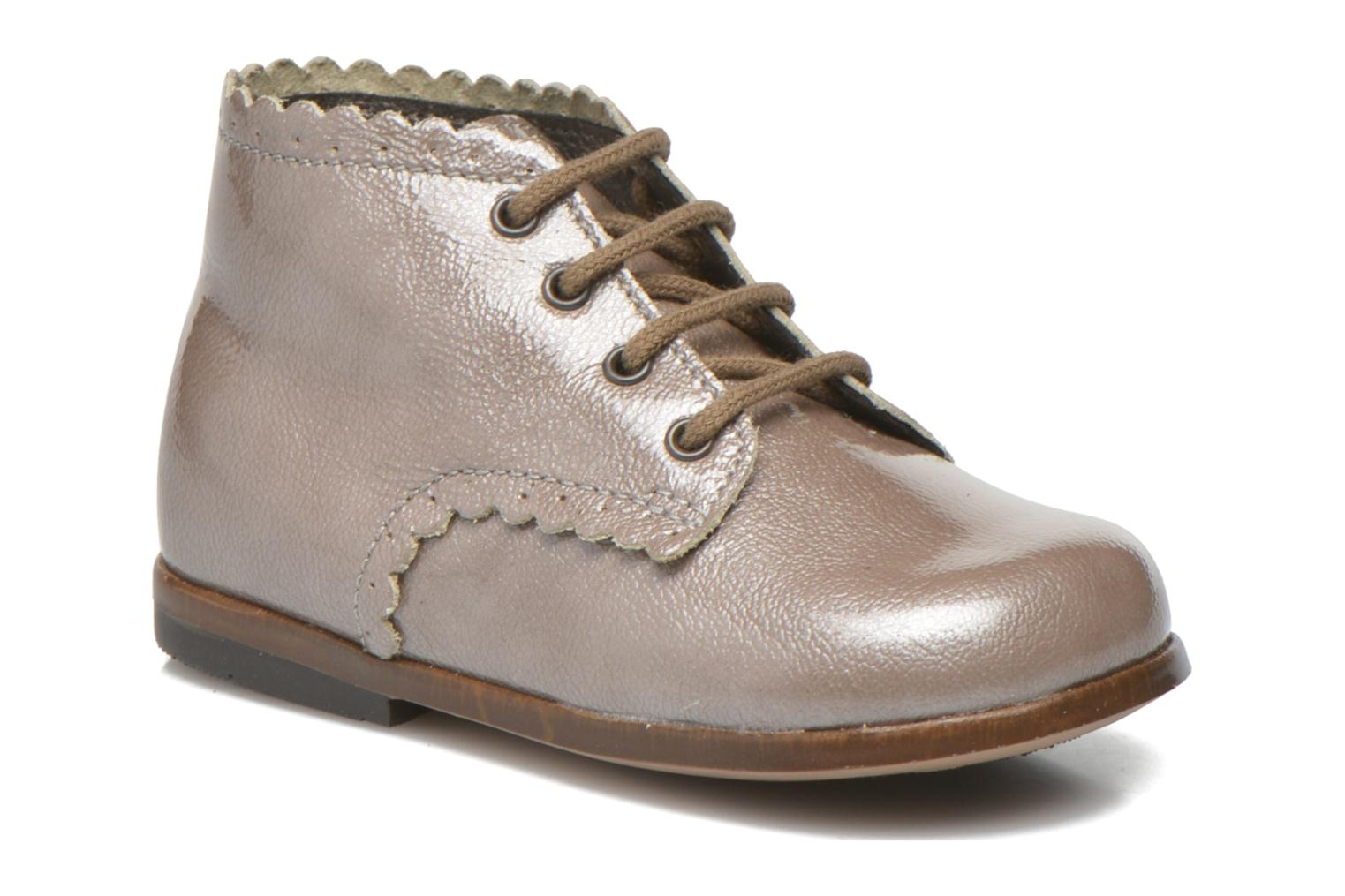 Ankle boots Little Mary Vivaldi Beige detailed view/ Pair view