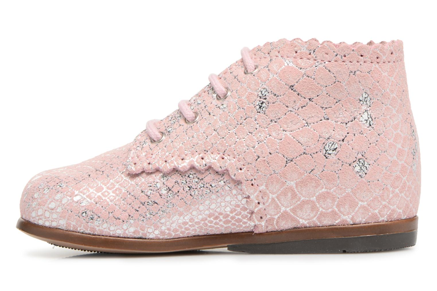 Ankle boots Little Mary Vivaldi Pink front view