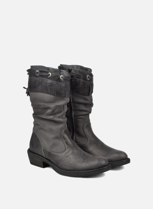Boots & wellies Stones and Bones Texas Grey 3/4 view
