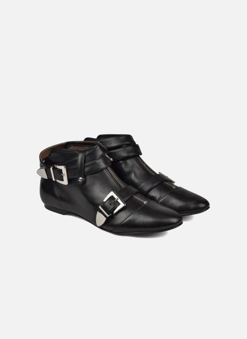 Bottines et boots Belle Guam Noir vue 3/4