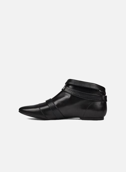 Bottines et boots Belle Guam Noir vue face