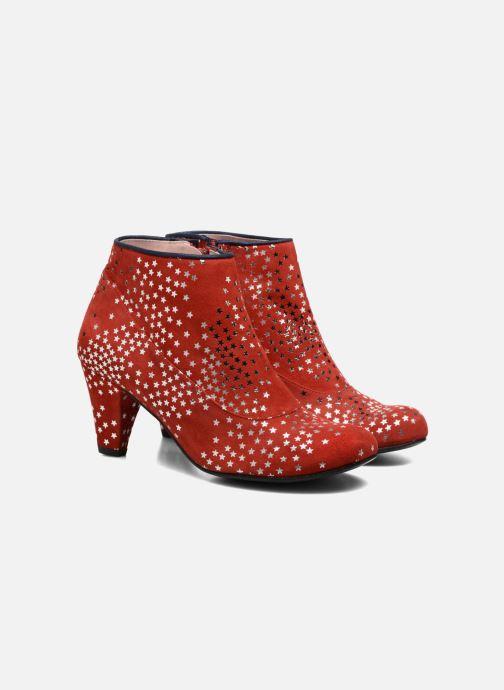 Bottines et boots Annabel Winship Guerin Rouge vue 3/4
