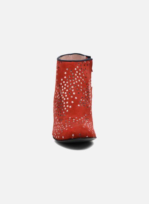 Bottines et boots Annabel Winship Guerin Rouge vue portées chaussures