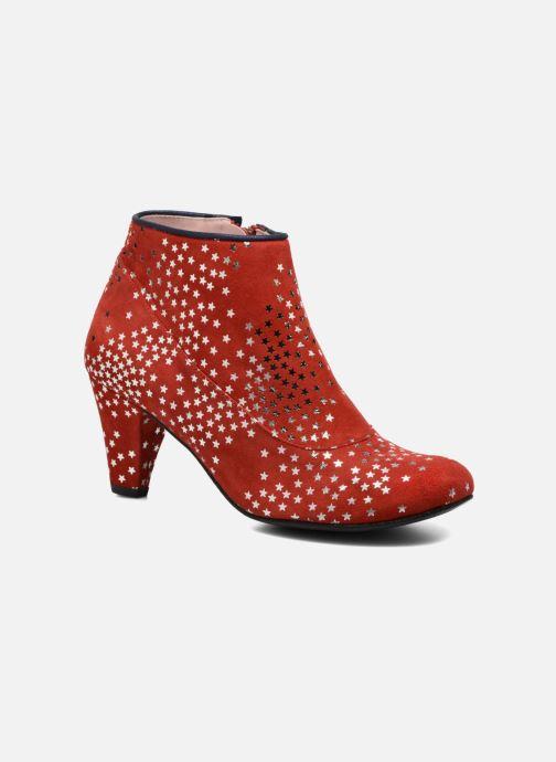 Bottines et boots Annabel Winship Guerin Rouge vue détail/paire