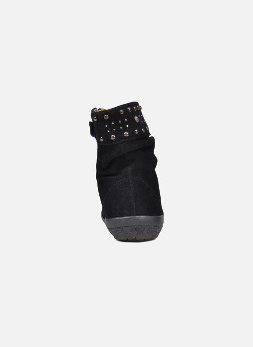 Bottines et boots Naturino Naturino 3255 Bleu vue droite
