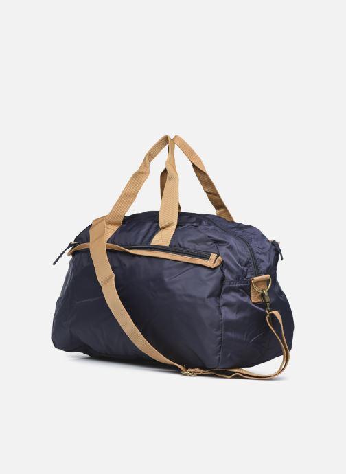 Bolsas de deporte Bensimon Sport Bag Azul vista lateral derecha