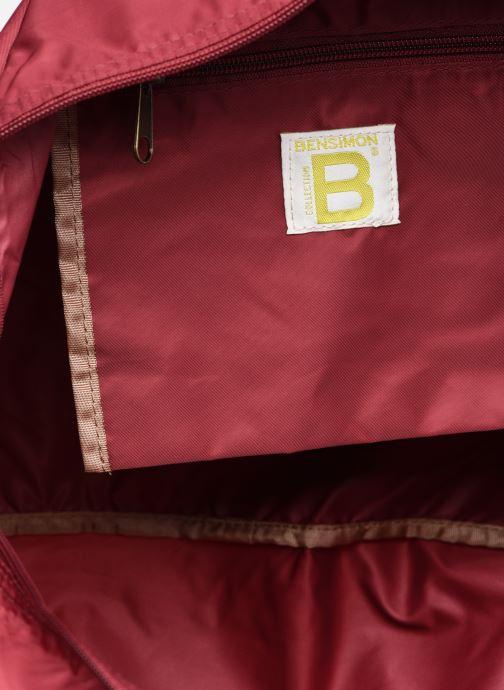 Borsa da palestra Bensimon Sport Bag Bordò immagine posteriore