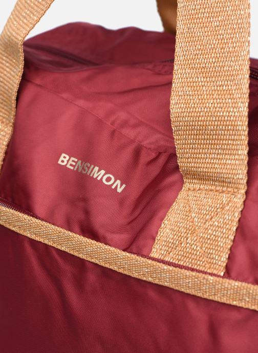 Borsa da palestra Bensimon Sport Bag Bordò immagine sinistra