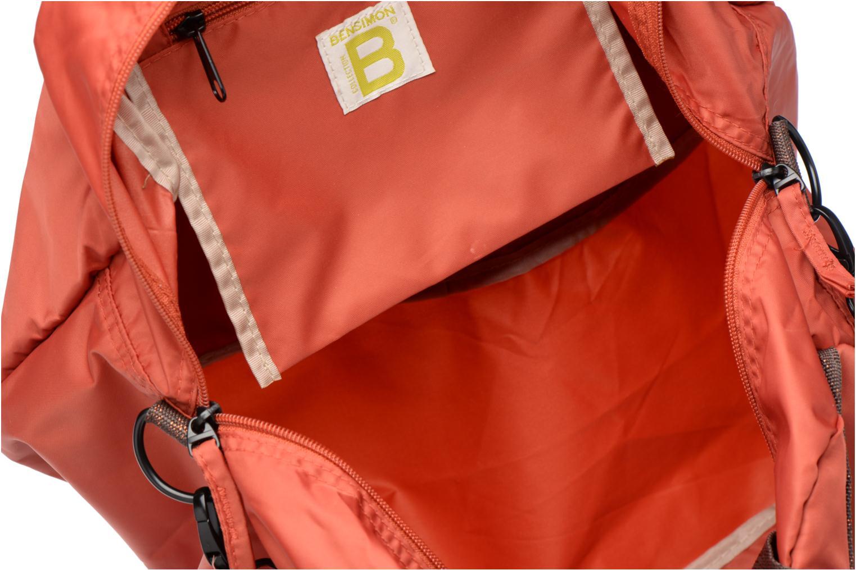 Sports bags Bensimon Sport Bag Orange back view