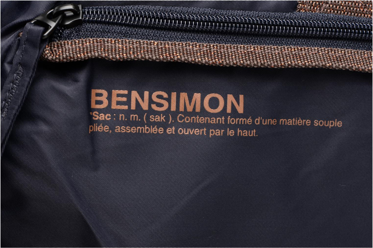 Sports bags Bensimon Sport Bag Blue view from the left