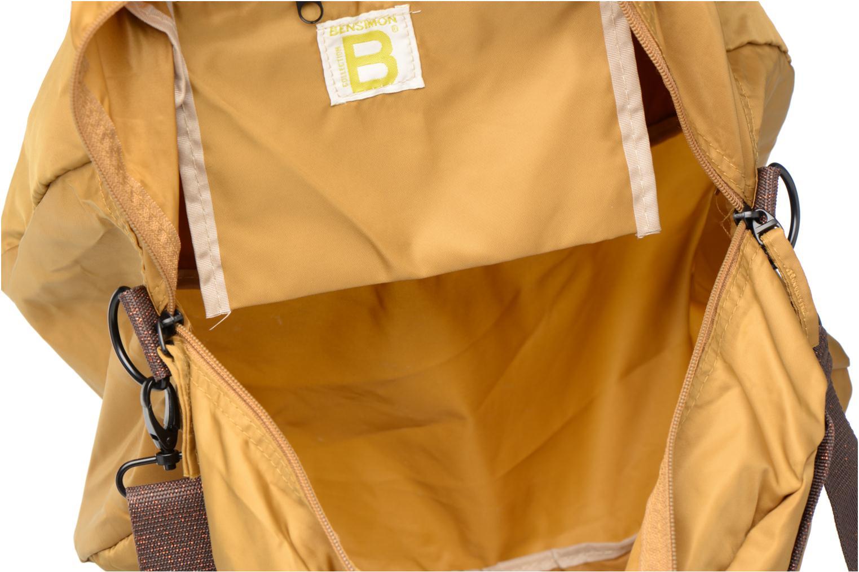Sacs de sport Bensimon Sport Bag Jaune vue derrière