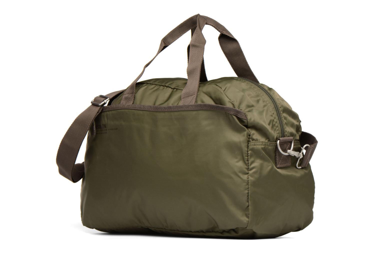 Sporttaschen Bensimon Sport Bag grün schuhe getragen
