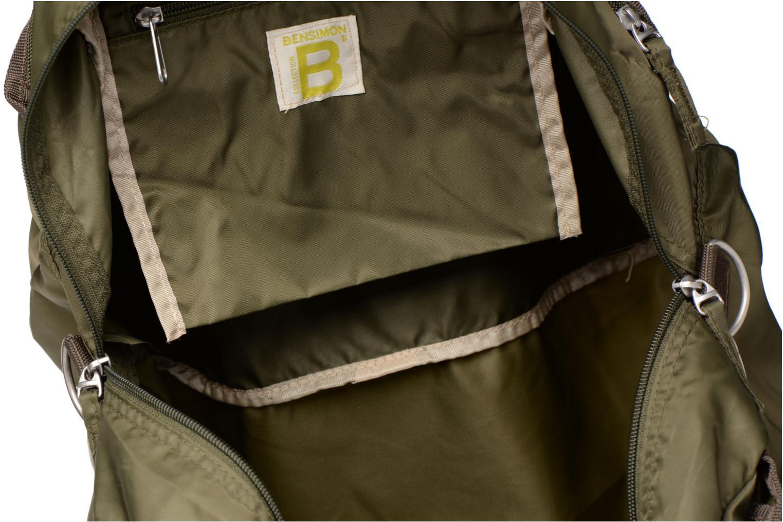 Sporttaschen Bensimon Sport Bag grün ansicht von hinten