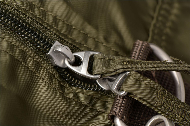 Sporttaschen Bensimon Sport Bag grün ansicht von links