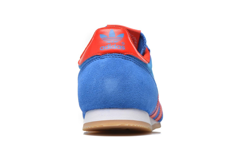 Baskets Adidas Originals Dragon Bleu vue droite