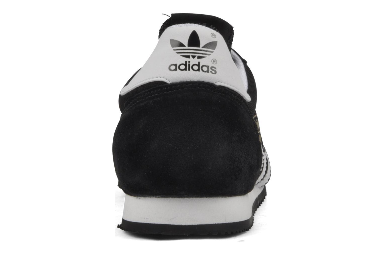 Baskets Adidas Originals Dragon Noir vue droite