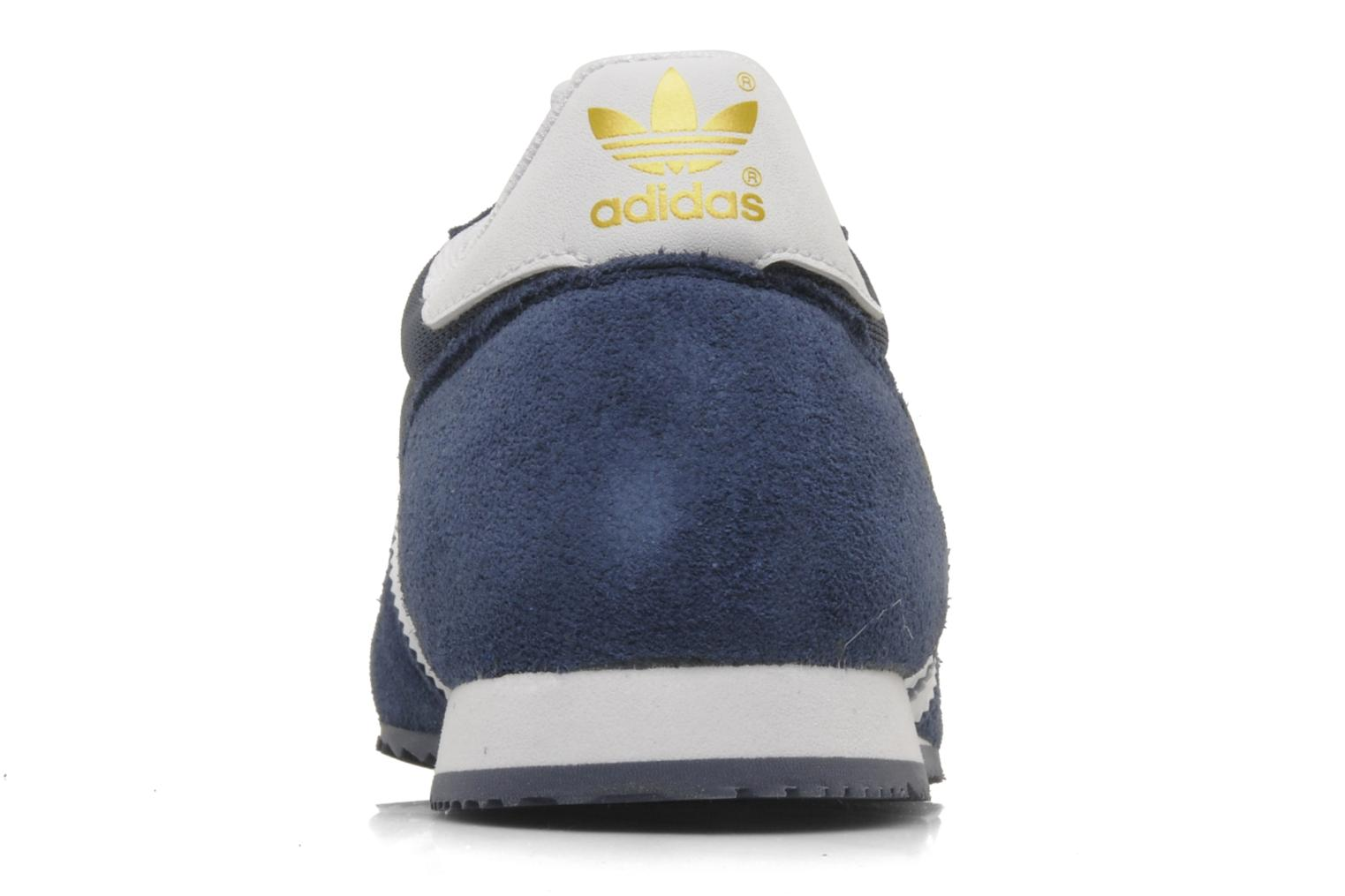 Baskets Adidas Originals Dragon Bleu vue droite