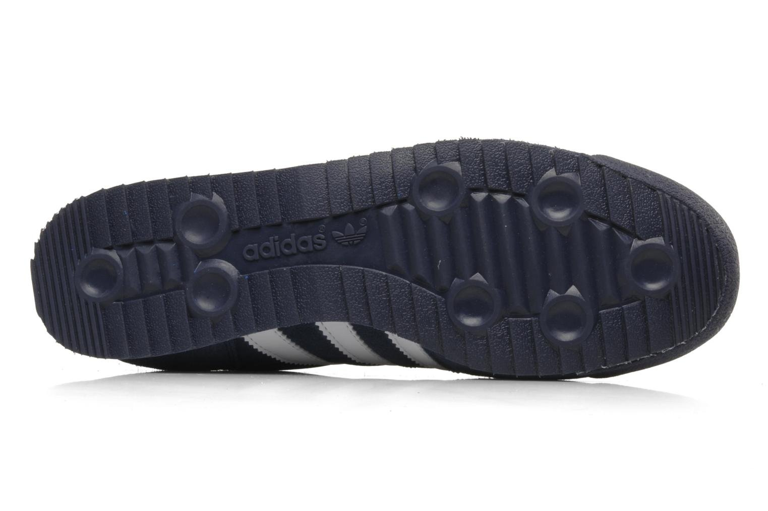 Baskets Adidas Originals Dragon Bleu vue haut