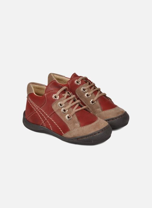 Boots en enkellaarsjes Natik 22507B Rood 3/4'
