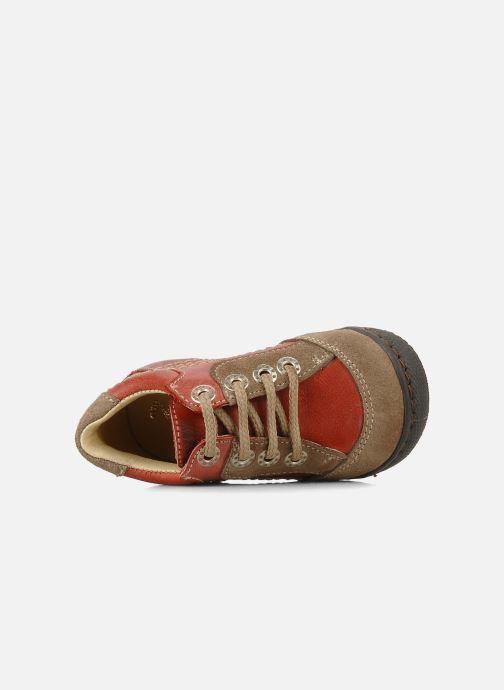 Boots en enkellaarsjes Natik 22507B Rood links