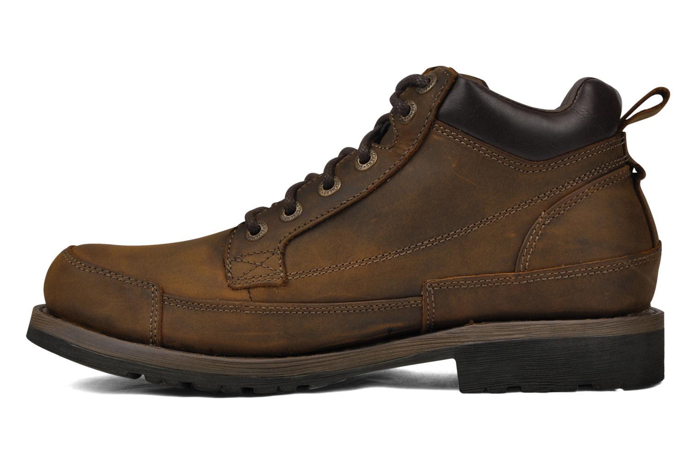 Chaussures à lacets Skechers Shockwaves Regions 61737 Marron vue face