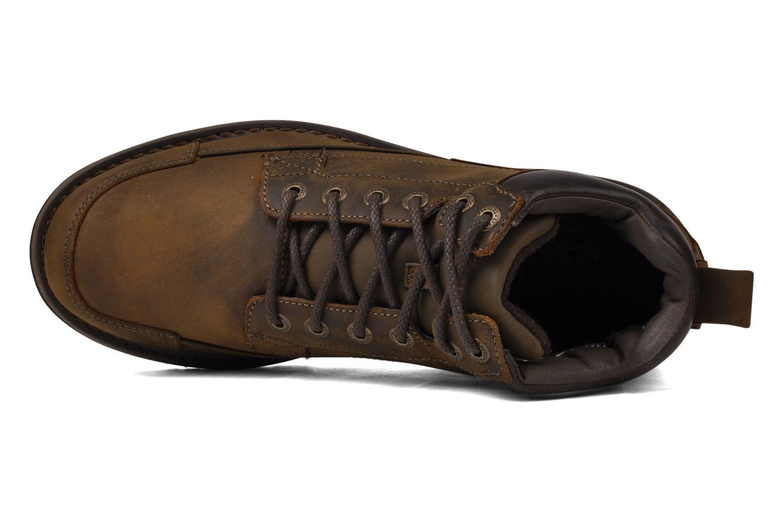 Chaussures à lacets Skechers Shockwaves Regions 61737 Marron vue gauche