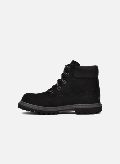 Ankle boots Skechers Lumberjack Black front view