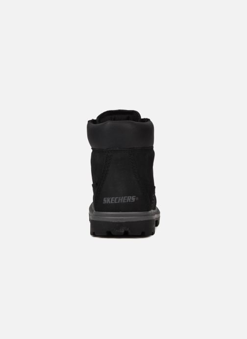 Ankle boots Skechers Lumberjack Black view from the right
