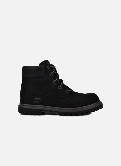 Ankle boots Skechers Lumberjack Black back view
