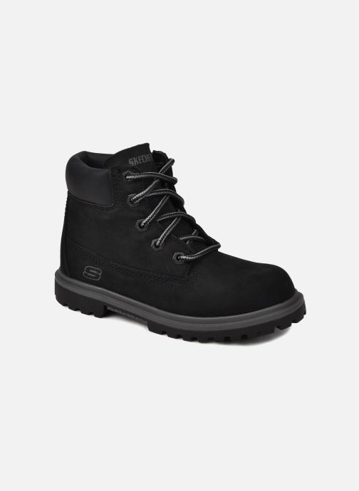 Ankle boots Skechers Lumberjack Black detailed view/ Pair view