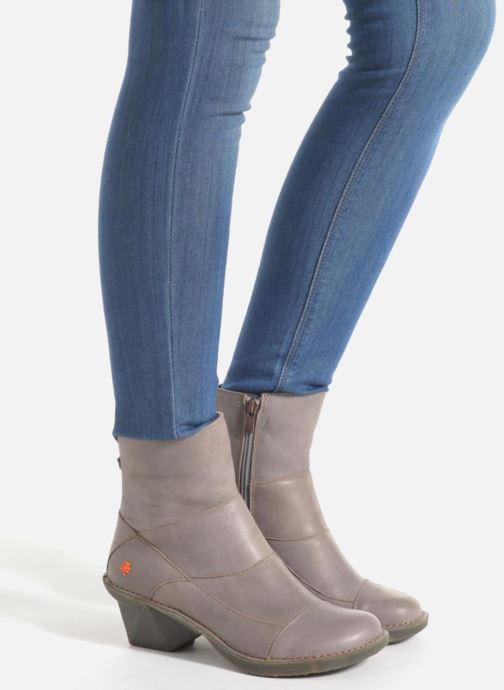 Bottines et boots Art Oteiza 621 Noir vue bas / vue portée sac