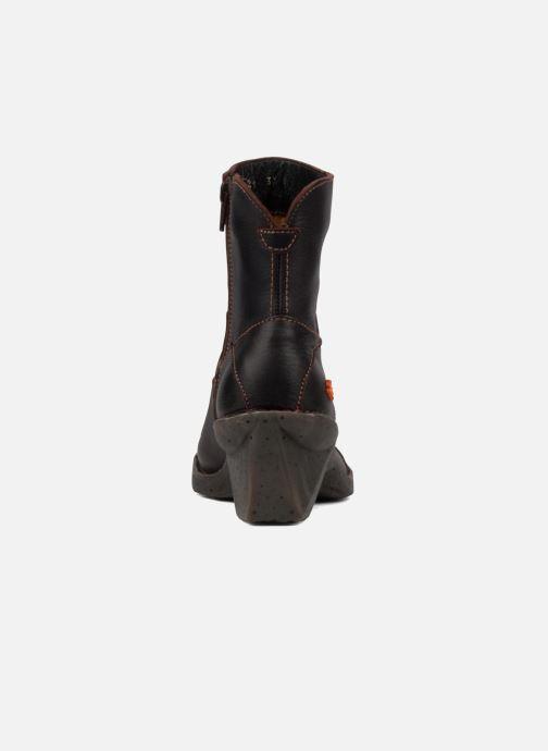 Boots en enkellaarsjes Art Oteiza 621 Bruin rechts