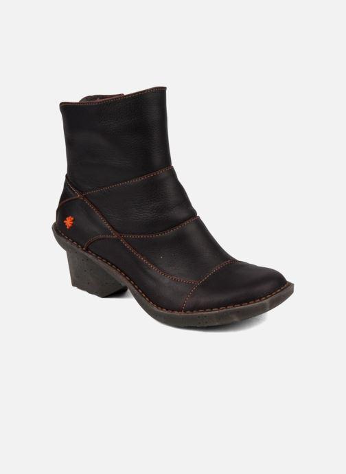Boots en enkellaarsjes Art Oteiza 621 Bruin detail