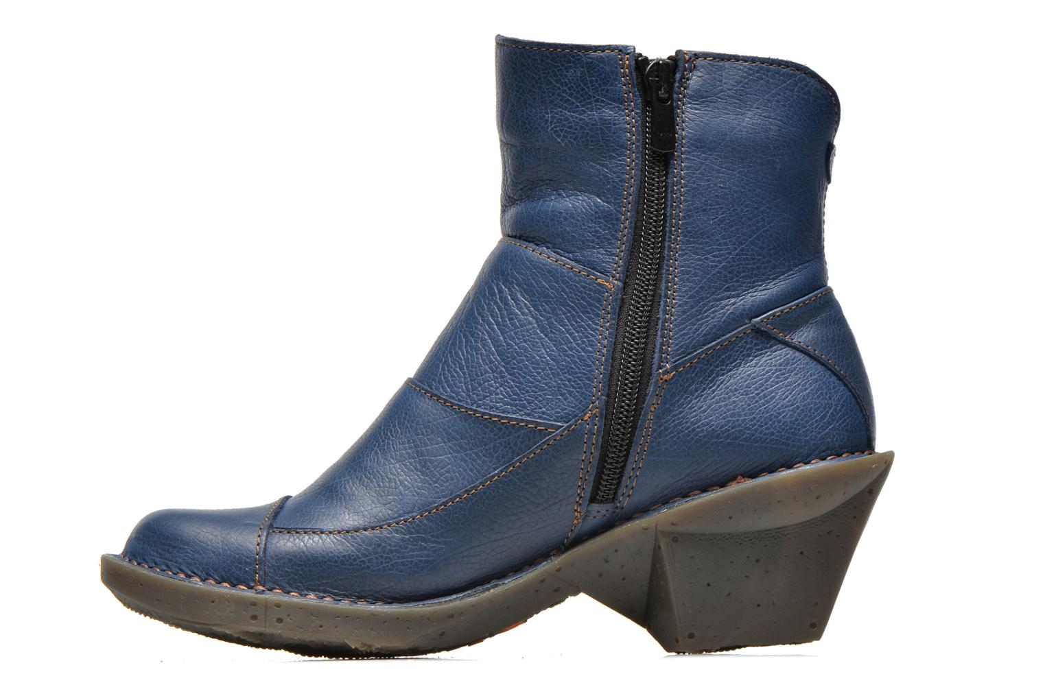 Ankle boots Art Oteiza 621 Blue front view