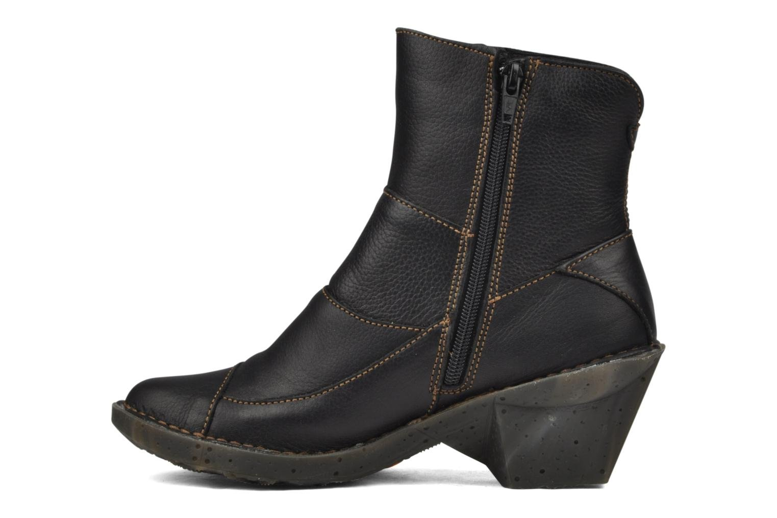 Ankle boots Art Oteiza 621 Black front view