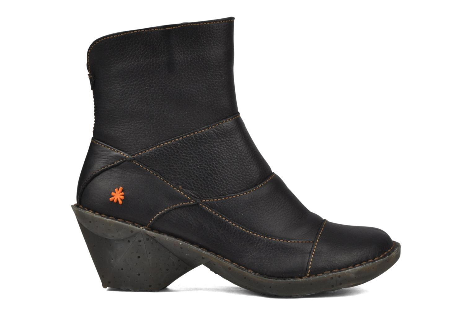Ankle boots Art Oteiza 621 Black back view