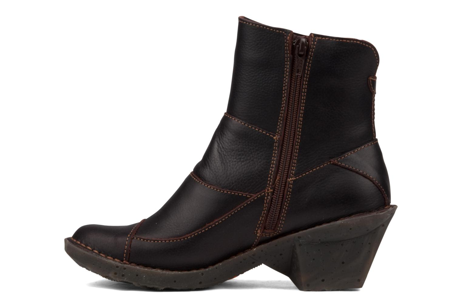 Ankle boots Art Oteiza 621 Brown front view