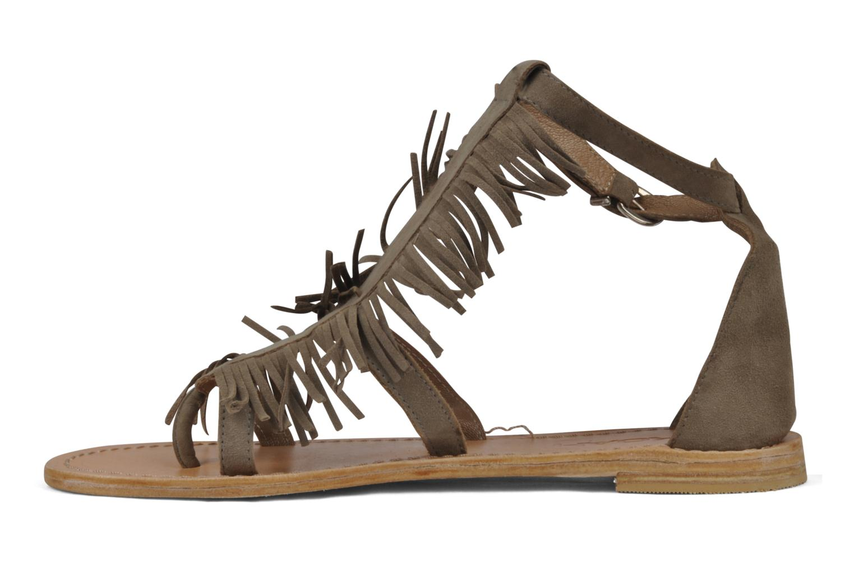 Sandales et nu-pieds Koah Elha Beige vue face