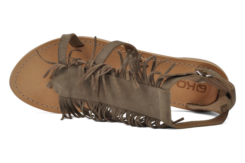 Sandales et nu-pieds Koah Elha Beige vue gauche