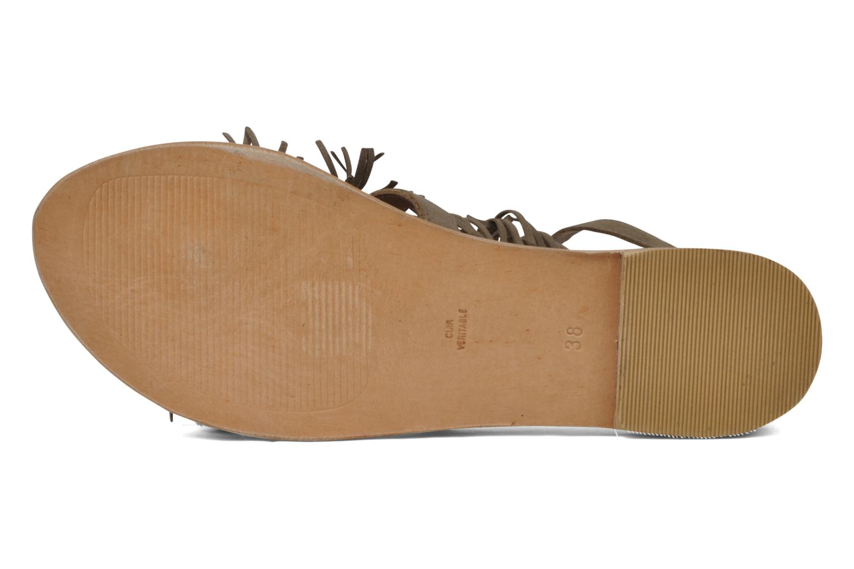 Sandales et nu-pieds Koah Elha Beige vue haut