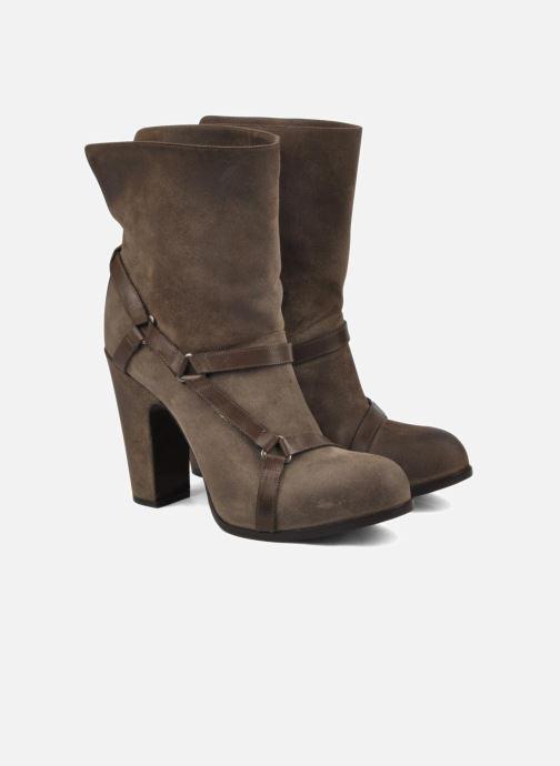 Bottines et boots Sartore Elda Beige vue 3/4