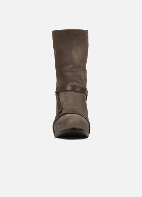 Bottines et boots Sartore Elda Beige vue portées chaussures