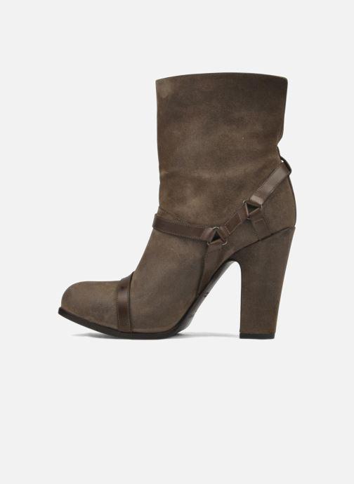 Bottines et boots Sartore Elda Beige vue face