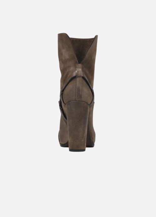 Bottines et boots Sartore Elda Beige vue droite