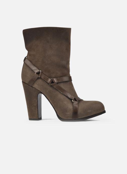 Bottines et boots Sartore Elda Beige vue derrière