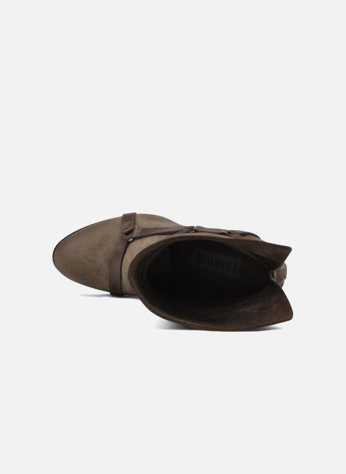 Bottines et boots Sartore Elda Beige vue gauche