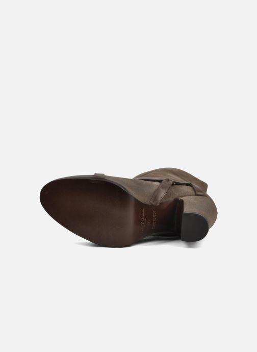 Bottines et boots Sartore Elda Beige vue haut