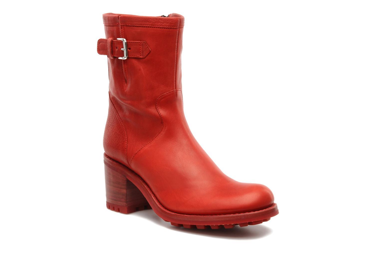 7 Boots rouge Bottines Gero Chez Et Mini Free Biker Lance w8vqnEEPX